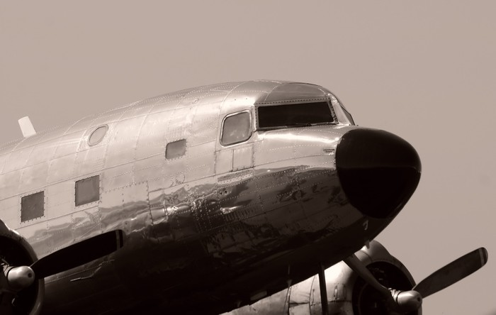 Old propeller airplane Wall Mural Pixers We live to change