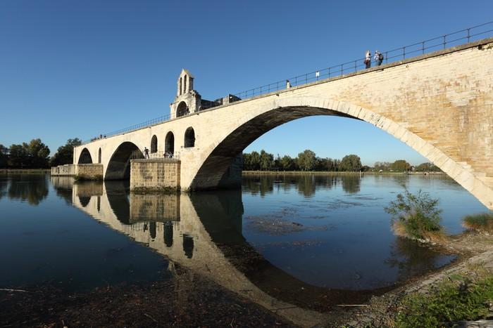 Papier Peint Pont Medieval A Avignon France Pixers Nous Vivons