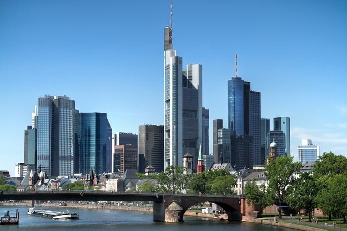 fototapete frankfurt am main skyline pixers wir leben um zu ver ndern. Black Bedroom Furniture Sets. Home Design Ideas