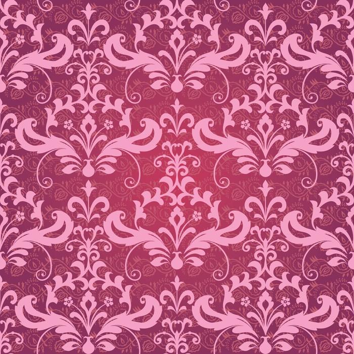 Vinilo pixerstick vintage cl sico papel pintado ornamental - Papel pintado y vinilo ...
