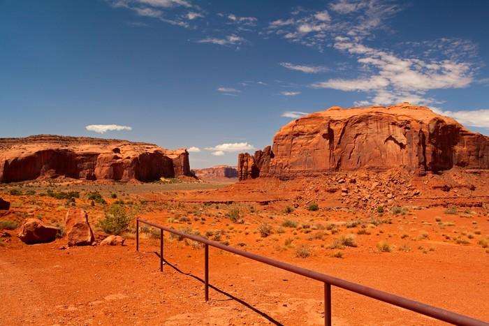 Vinylová Tapeta Vrcholy skalní útvary v Navajo parku Monument Valley - Amerika