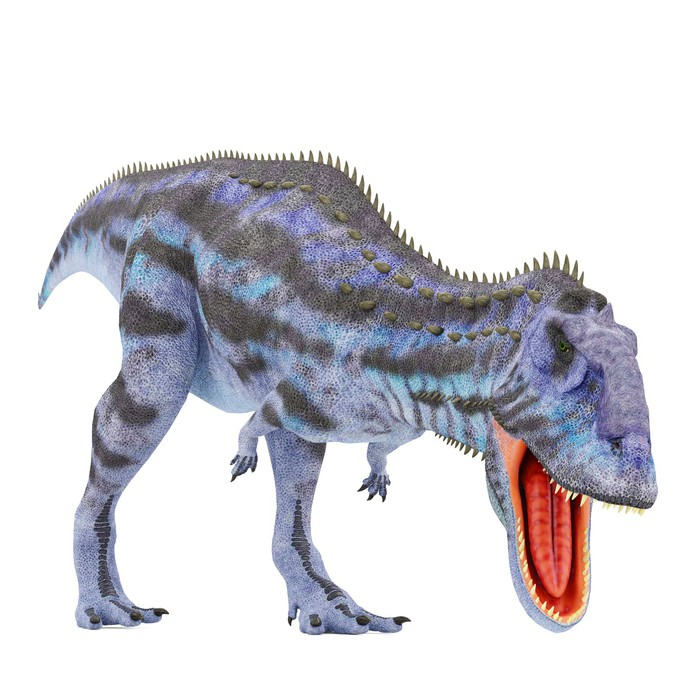 Fototapete blau majungasaurus ern hrung pixers wir - Fototapete blau ...