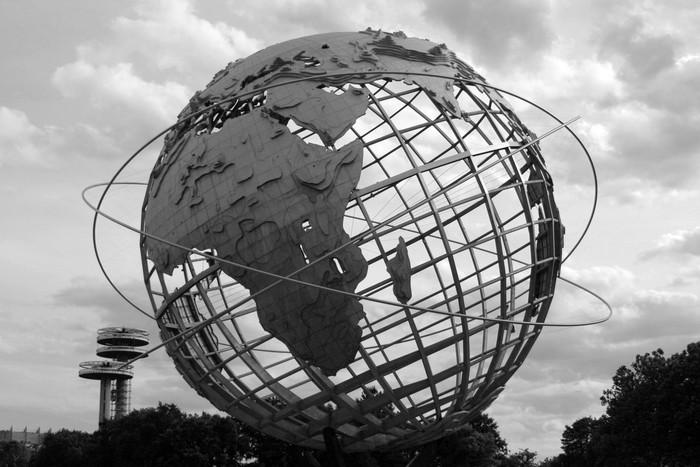 Vinylová Tapeta 1964 světová výstava - Americká města