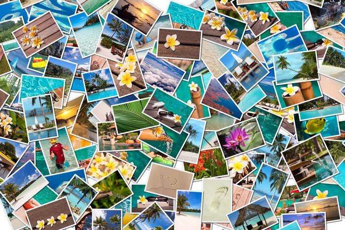 Vinylová Tapeta Beach dovolená fotografické koláže - Prázdniny