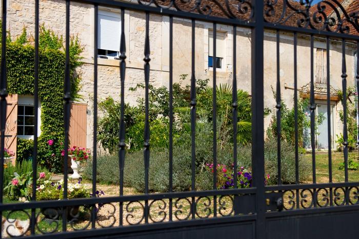 Adesivo giardino alla francese pixers viviamo per il - Giardino in francese ...