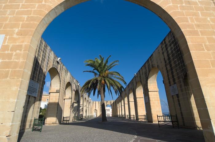 Vinylová Tapeta Nižší Barrakka zahrady v Valletta, Malta - Evropa