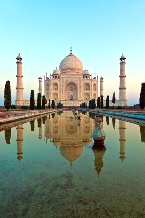 Vinylová Fototapeta Taj Mahal v Indii - Vinylová Fototapeta