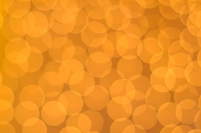 Vinylová fototapeta Zářící oranžová světla jako pozadí - Vinylová fototapeta