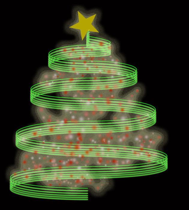 Vinylová Tapeta Vánoční stromeček - Mezinárodní svátky
