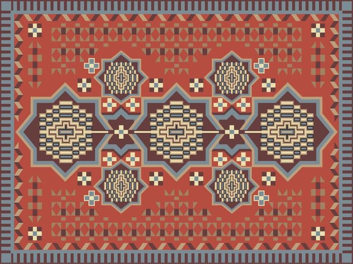 tableau sur toile la conception de tapis pixers nous vivons pour changer. Black Bedroom Furniture Sets. Home Design Ideas