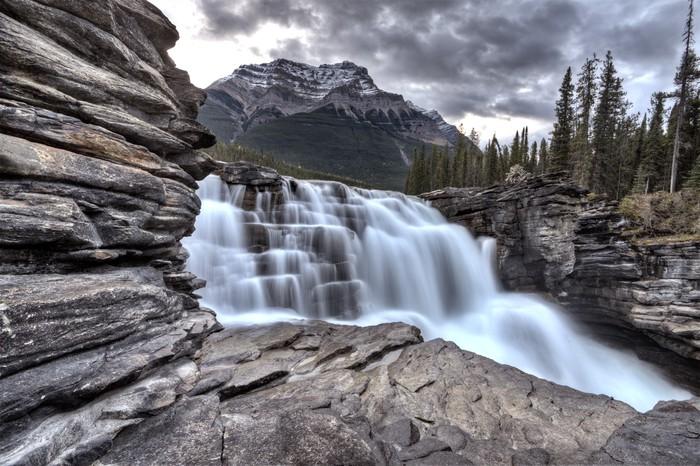 Vinylová Tapeta Athabasca Vodopád Alberta Canada - Voda