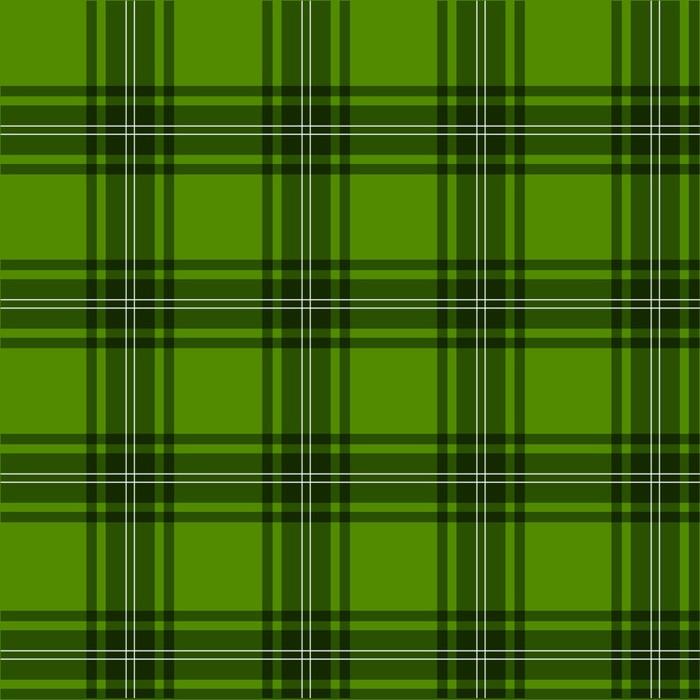 Vinylová fototapeta Tartan, skotského, zelená - Vinylová fototapeta