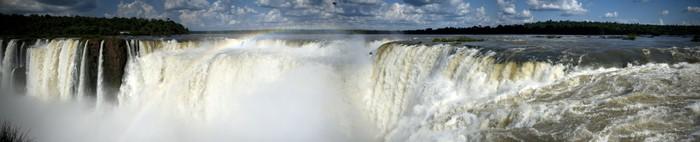 Vinylová Tapeta Ďáblova Throat, Iguazu Falls - Amerika