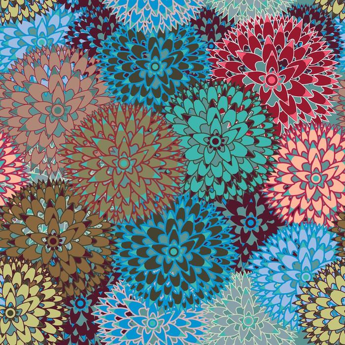 Vinylová Tapeta Seamless vector pattern - Pozadí