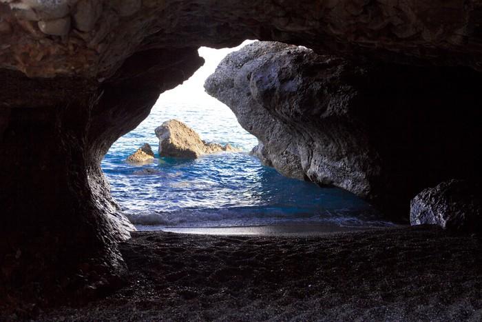Vinylová Tapeta Jeskyně na Sfakia - Prázdniny