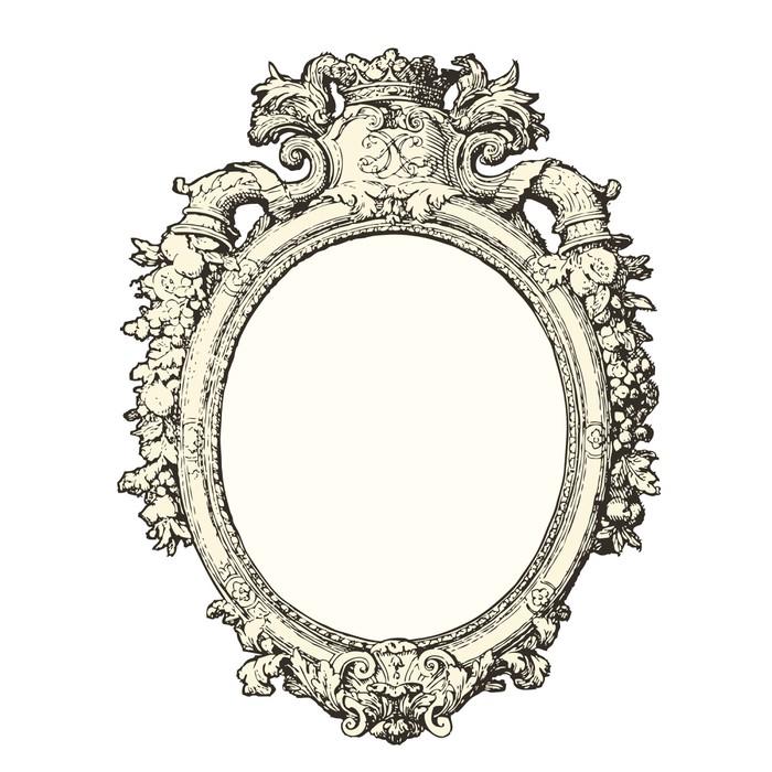 papier peint miroir 17 me sicle pixers nous vivons. Black Bedroom Furniture Sets. Home Design Ideas