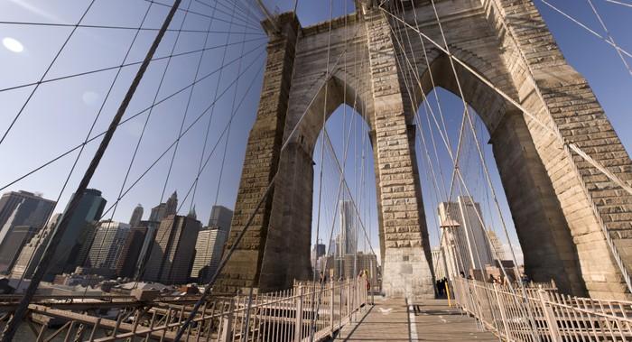 Vinylová Tapeta Brooklyn Bridge, New York, NY - Témata