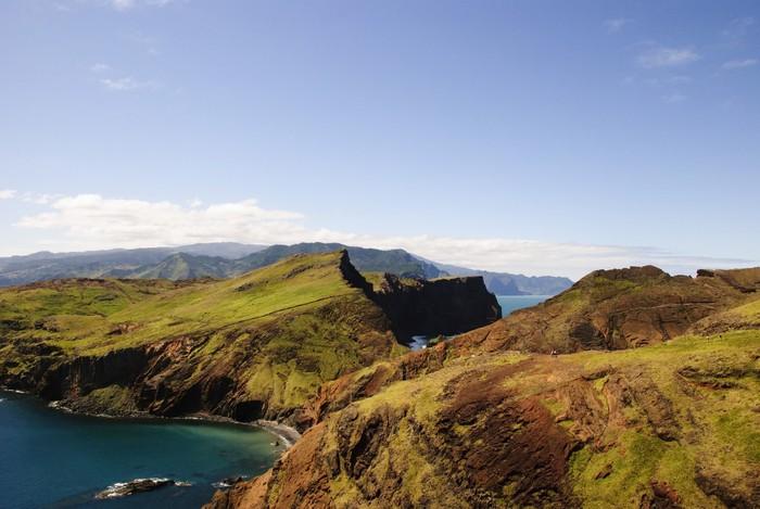 Vinylová Tapeta Ponta de São Lourenço, Madeira - Ostrovy