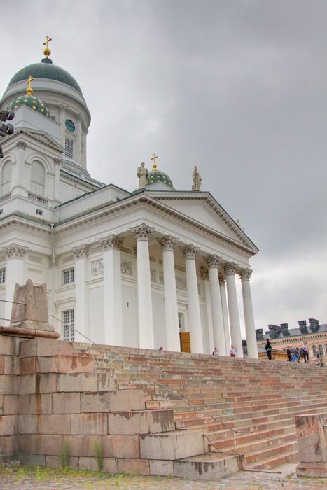 Vinylová Tapeta Cathedrale à Helsinki - Evropa