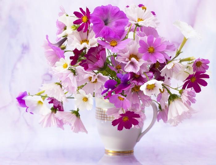 Carta da parati bouquet di fiori primaverili pixers - Fiori primaverili ...