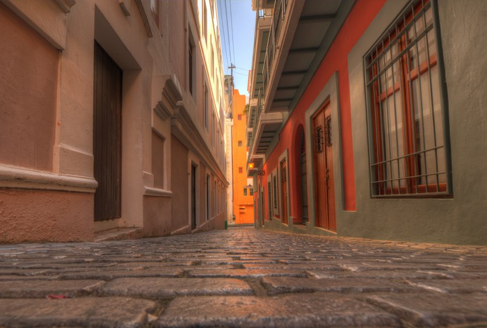 Vinylová Tapeta Staré Město San Juan - Témata