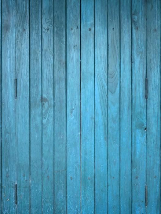 Fototapete holz blau panel pixers wir leben um zu - Fototapete blau ...