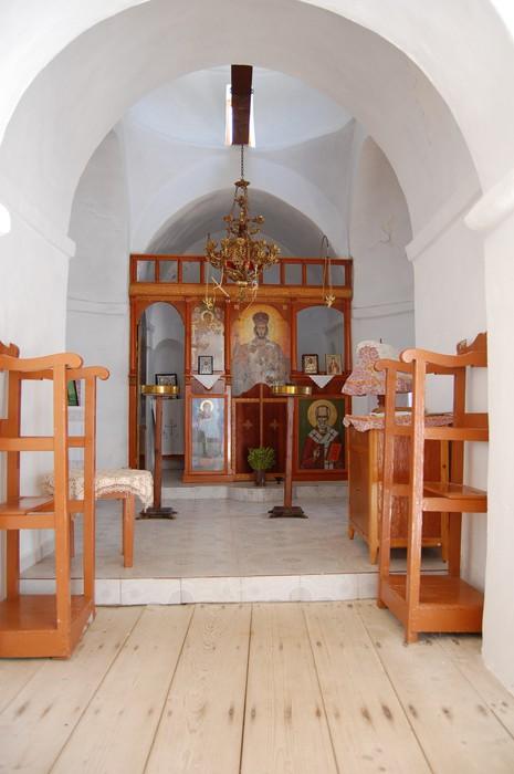Vinylová Tapeta Uvnitř Agios Georgios z Heronissos církev - Sifons - Kyklady - Evropa