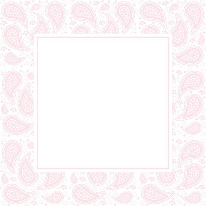 Vinylová Tapeta Paisley Border - Umění a tvorba