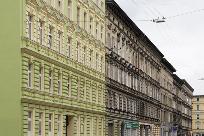 Vinylová fototapeta Stadtteilsanierung Stettin - Vinylová fototapeta