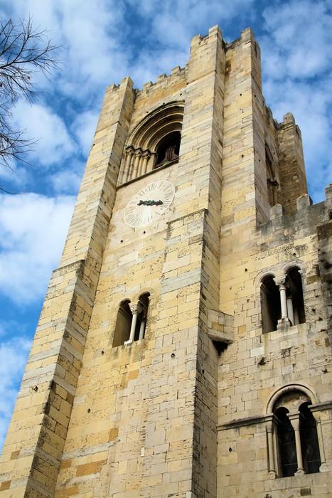 Vinylová Tapeta Se Catedral Lisabon - Evropská města