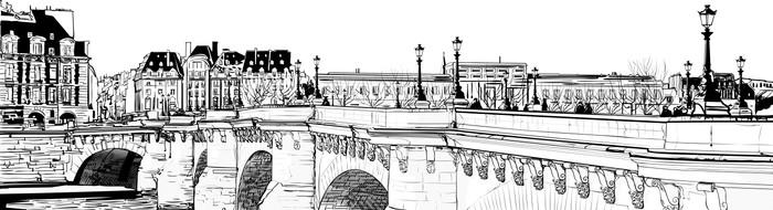 Paris - Pont neuf Wall Mural - Vinyl - Themes