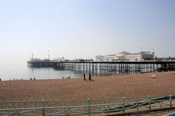 Vinylová Tapeta Palace Pier, Brighton - Voda