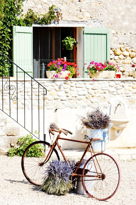 Vinylová fototapeta Rotoped, Provence, France - Vinylová fototapeta