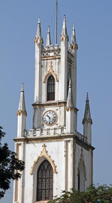 Vinylová Tapeta Katedrála St. Thomas v Bombaji - Asie