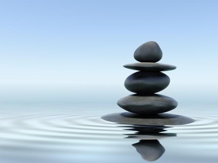 vinilo piedras zen pixerstick - Piedras Zen