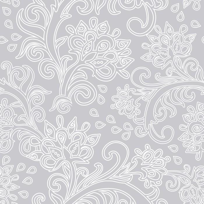 Vinylová Tapeta Květinový vzor bezešvé - Pozadí