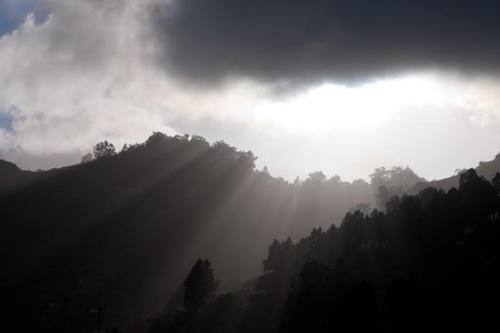 Vinylová Tapeta Gran Canaria Mountains - Evropa