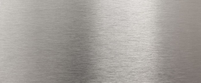 Vinilo Pixerstick Luminoso Textura De Acero Inoxidable
