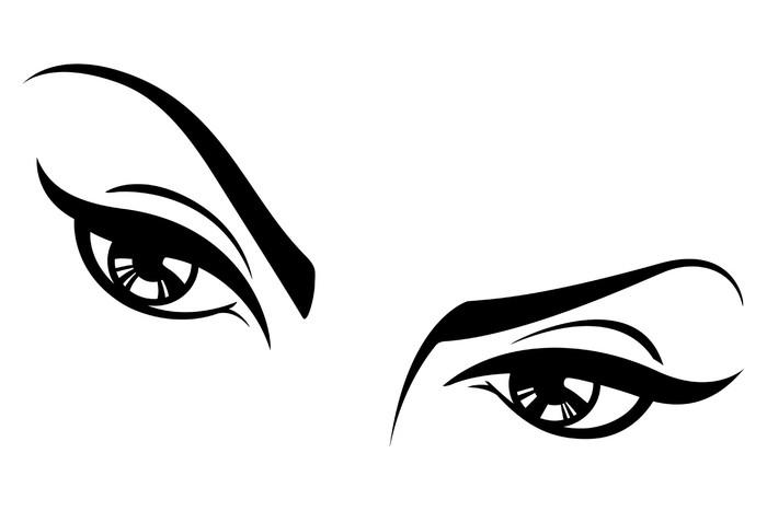 sexy vector female eyes three wall mural u2022 pixers u2022 we live to change rh pixers ca  sexy victoria secret dress-up games
