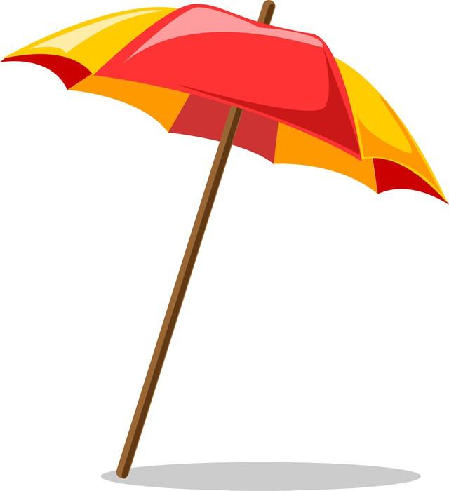 Sticker parasol pixers nous vivons pour changer - Dessin parasol ...