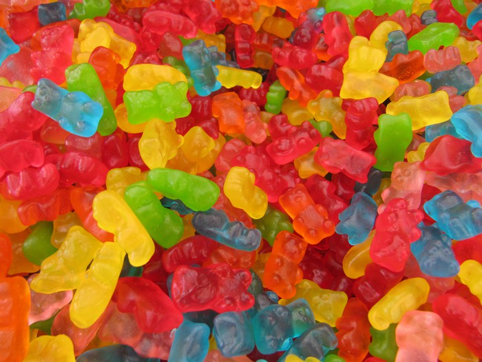 Candy bears wall mural pixers we live to change for Candy wall mural