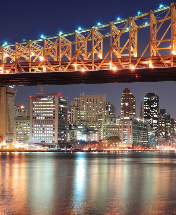 Vinylová Tapeta Queensboro most a Manhattan - Amerika