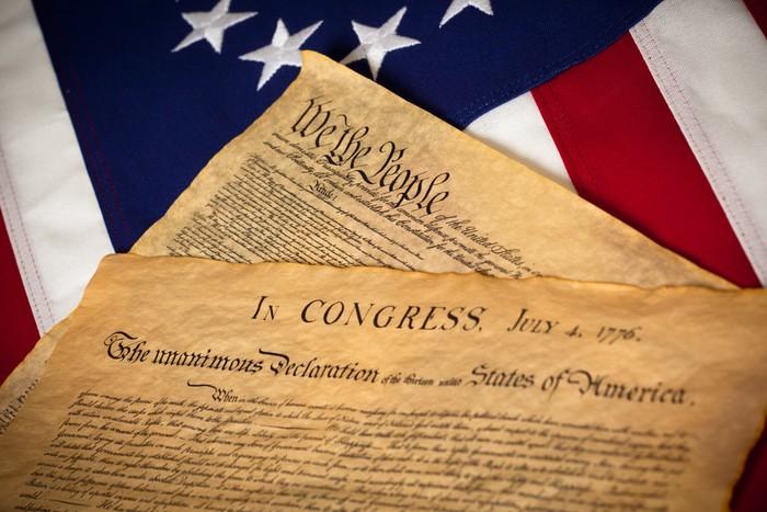 Znalezione obrazy dla zapytania konstytucja usa