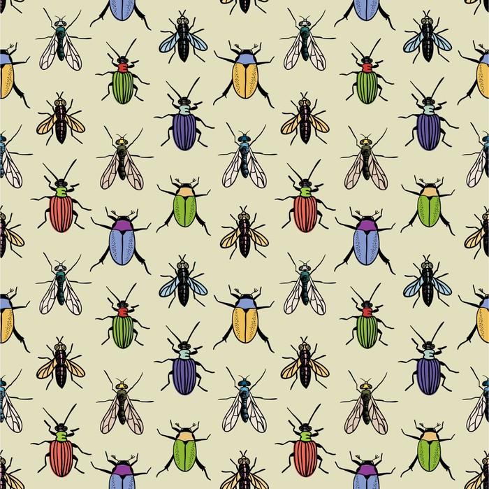 Papier Peint Vinyle Texture Bugs - Passe-temps et loisirs