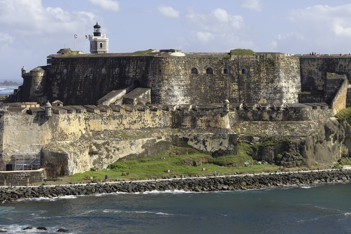 Vinylová Tapeta Fort San Felipe del Morro v Puerto Rico - Amerika