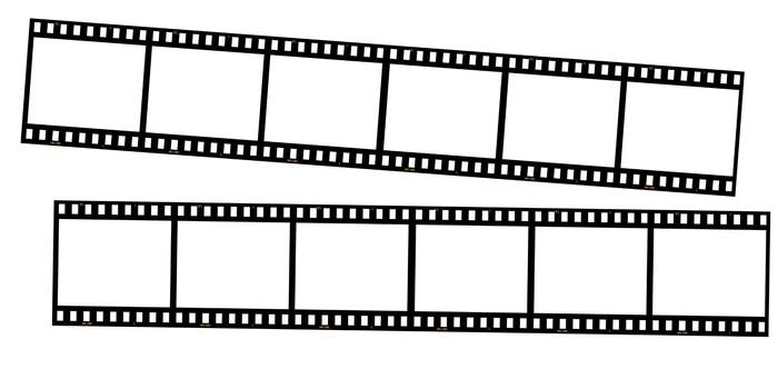Vinylová Tapeta 35mm filmové pásy - XXXL - Značky a symboly