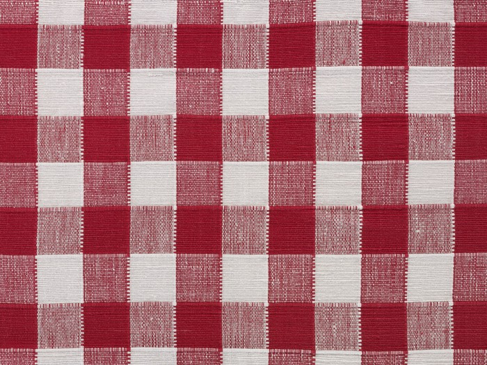 Checkered Tablecloth Vinyl Wall Mural   Textures