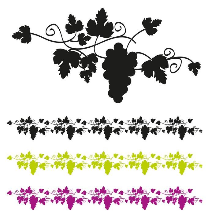 papier peint frise raisin pixers nous vivons pour changer. Black Bedroom Furniture Sets. Home Design Ideas