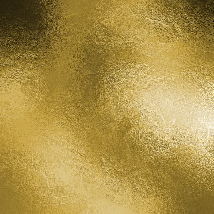 Fototapete Gold Textur der massiven Platte • Pixers® - Wir leben, um ...