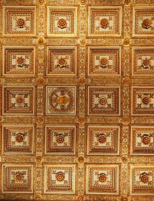 Carta da parati roma santa maria maggiore soffitto della for Carta da parati roma